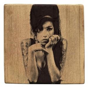 Amy_Winehouse_Ball_Point_Pen_on_Kauri_timber_block_100mm_x_100mm_300x300