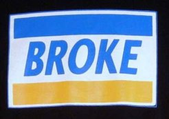 Broke_Credit_Card_Logo_Parody_Shirt_Black_Front_Closeup