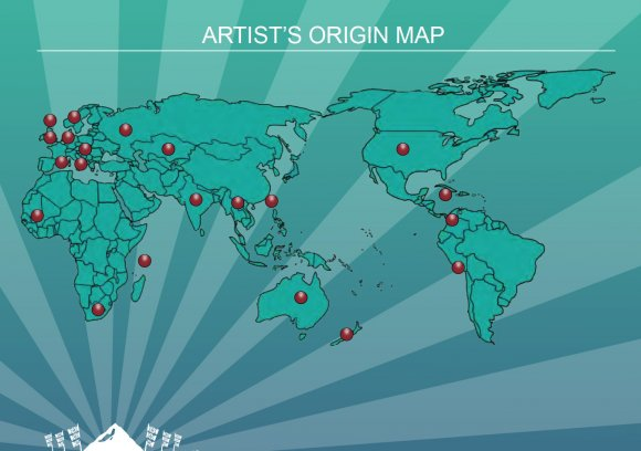 Artists_Map
