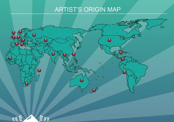 Artists_Map