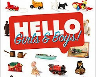 HELLO GIRLS AND BOYS! A NEW ZEALAND TOY STORY by DAVID VEART