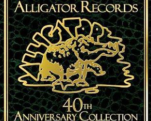 ALLIGATOR RECORDS 1971 - 2011: Four decades of brittle and often brilliant blues