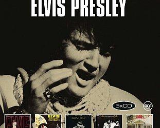 THE BARGAIN BUY: Elvis Presley; Original Album Classics