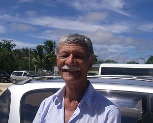 Niue, South Pacific: Front seat storyteller