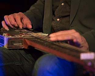 Harry Manx, The Tuning Fork, Auckland, October 3 2014