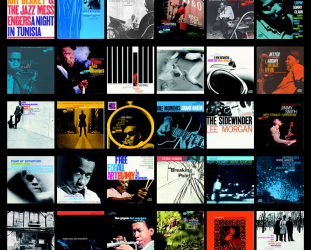 10 CLASSIC BLUE NOTE COVERS (2014): Making the music look good