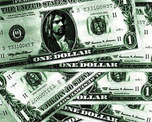 NIRVANA, IN THE MONEY (1992): Number one, with a bullet