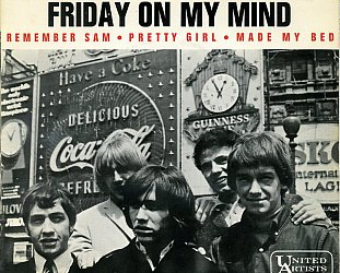 THE EASYBEATS REMEMBERED (2015): I got hit songs on my mind . . .