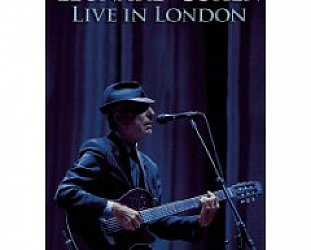 BEST OF ELSEWHERE 2009 Leonard Cohen: Live in London (DVD, Sony)