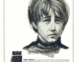 THE HOLLIES. TONY HICKS INTERVIEWED (2010): The road is long . . .