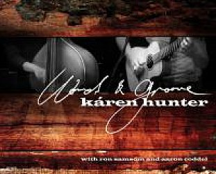 Karen Hunter: Words and Groove (Rawfishsalad)
