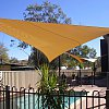 The necessary pool and even more necessary canopy over it. Alice Springs.