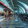 Dubai airport, deserted at 2pm. I spent 24 hours here