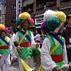 Yet another street festival and parade in Seoul.
