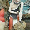 Sculpture in the Ten Courts of Hell at Haw Par Villa in Singapore.   ??