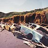 How to prevent coastal erosion, west coast on New Zealand's North Island.