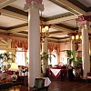 Inside the elegant Empress Hotel in Victoria, Vancouver Island.