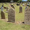 There are a lot of very dead and very young people in the cemetery on Norfolk Island. And a man who clocked out at 105.