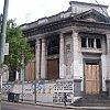 Abandoned bank in La Boca district