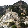 Beautiful Amalfi on the west coast of central Italy where the town has steps, not streets.