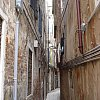Another winding lane to nowhere in Venice's Jewish quarter.