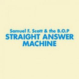 BEST OF ELSEWHERE 2008: Samuel Flynn Scott and Bunnies on Ponies: Straight Answer Machine (Loop)
