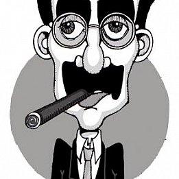 Groucho Marx: Churchill, Chicago critics (1972)