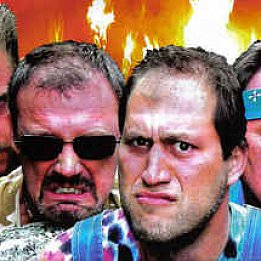 WE NEED TO TALK ABOUT . . .  HAYSEED DIXIE: The wacky world of hillbilly humour