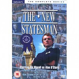 THE NEW STATESMAN written by LAURENCE MARKS AND MAURICE GRAN (Shock DVD)