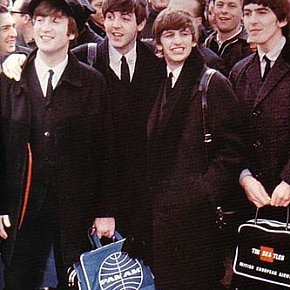 THE BEATLES IN AMERICA 1964: Songs of innocence -- and experience  (DVD reviewed, 2004)