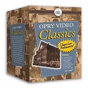 THE GRAND OLE OPRY PRESENTS . . . CLASSICS (Time Life 5-DVD set)