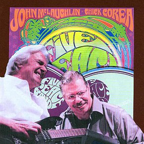 CHICK COREA AND JOHN McLAUGHLIN'S FIVE PEACE BAND LIVE ALBUM: Nu-fusion not so confusin'