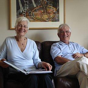 Sue and Horst's Famous Persimmon Cream Pie
