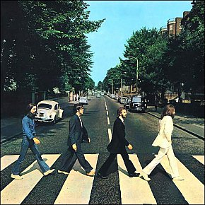 THE BEATLES' ABBEY ROAD IN 2009: A classic from the cover on in