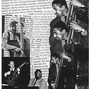 RAY BROWN, SUPERBASS (1926-2002): A talent beyond words