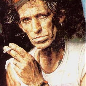 THE LATE, GREAT KEITH RICHARDS: an early obit