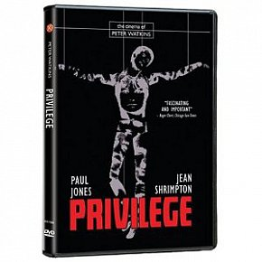 PRIVILEGE, a film by PETER WATKINS, 1967 (Universal DVD)