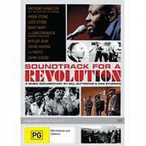 SOUNDTRACK FOR A REVOLUTION, a film by  BILL GUTTENTAG and DAN STURMAN, 2009 (Hopscotch DVD)