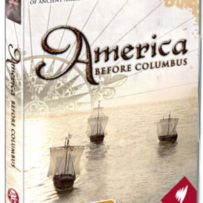 AMERICA BEFORE COLUMBUS, a doco series by  CRISTINA TREBBI (SBS/Madman)