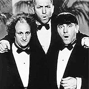 THE THREE STOOGES: Violence spoken here