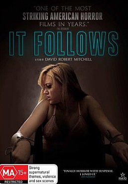 IT FOLLOWS, a film by DAVID ROBERT MITCHELL (Rialto DVD)