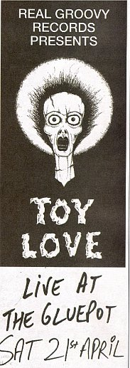 TOY LOVE; A RETURN BOUT? (2012)