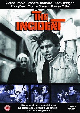 THE INCIDENT, a film by LARRY PEERCE (Madman DVD)