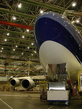 Seattle and the Boeing factory 2005: We have lift-off
