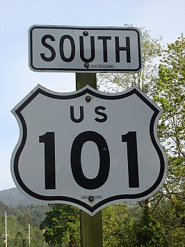 Highway 101; West Coast USA: My way or the highway