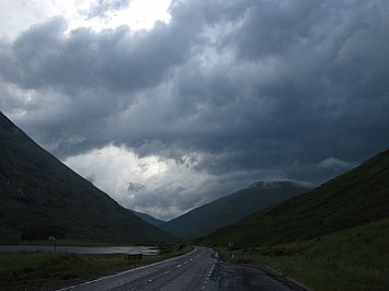 Glencoe, Scotland: The past on the wild wind
