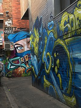 MELBOURNE'S GRAFFITI ART (2015): Take a walk on the multicolour side