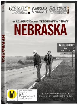 NEBRASKA, a film by ALEXANDER PAYNE (Roadshow DVD)