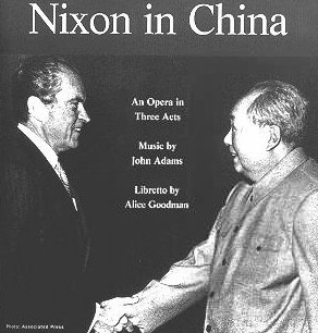 NIXON IN CHINA REVISITED (2105): History as theatre