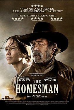 THE HOMESMAN, a film by TOMMY LEE JONES (Madman DVD/Blu-Ray)